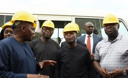 VIDEO: Dangote: My refinery is 8 times the size of Victoria Island