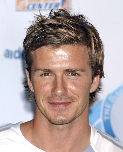 David Beckham Hairstyles Short