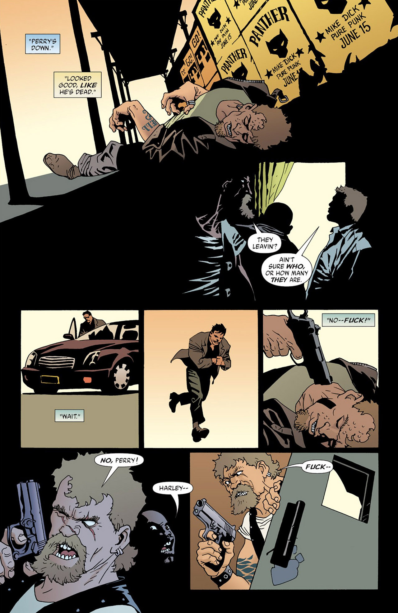 Read online 100 Bullets comic -  Issue #50 - 22