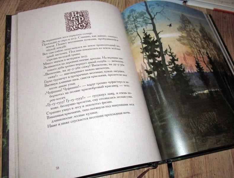 Год в лесу Автор Соколов-Микитов