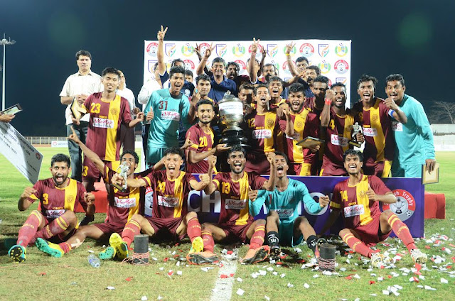 West Bengal win 71st edition of Santosh Trophy