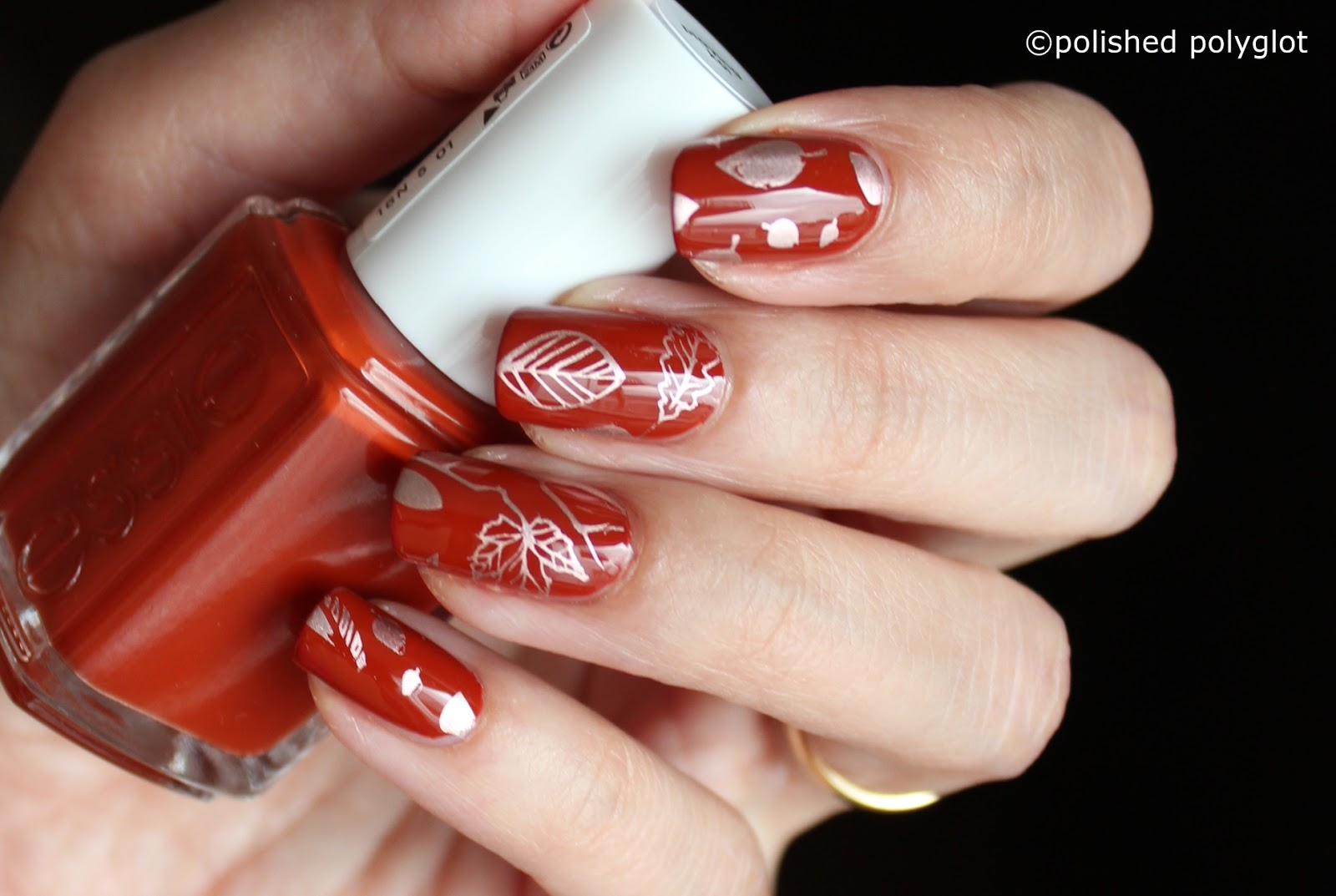 Nail Art Autumn Inspired Manicure To Welcome The Season Polished