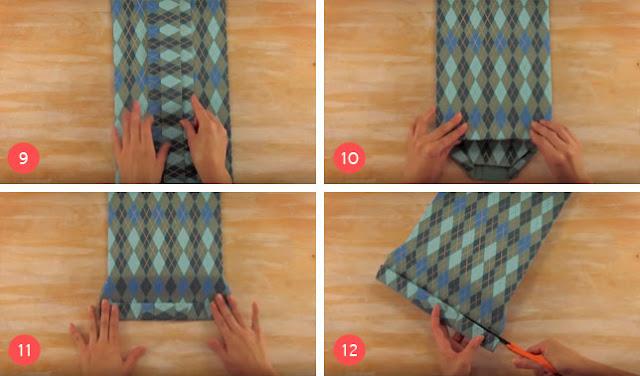 Cara Membungkus Kado Bentuk Kemeja