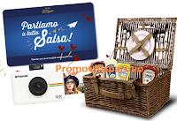 Logo ''Amore in tutte le salse'': vinci 53 Polaroid Snap, 53 cesti Pic Nic e voucher viaggio