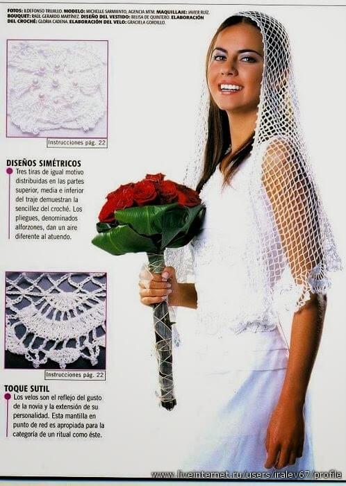 Revista para Novias / Vestidos, Accesorios, y Detalles al Crochet ...