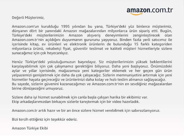 Türkiyede Amazon Savaşı Başladı
