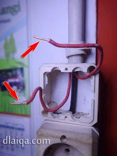 cek kondisi kabel