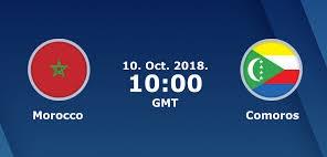 اون لاين مشاهدة مباراة المغرب وجزر القمر بث مباشر اياب 16-10-2018 تصفيات كأس أمم أفريقيا 2019 اليوم بدون تقطيع