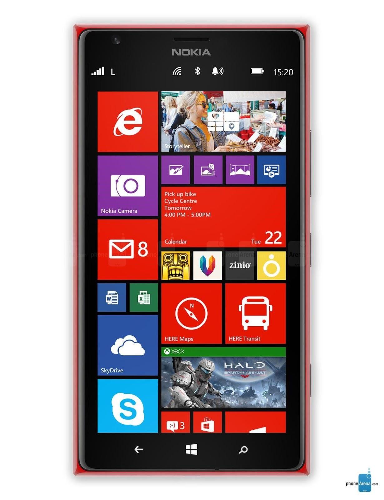 nokia lumia 6 inch screen