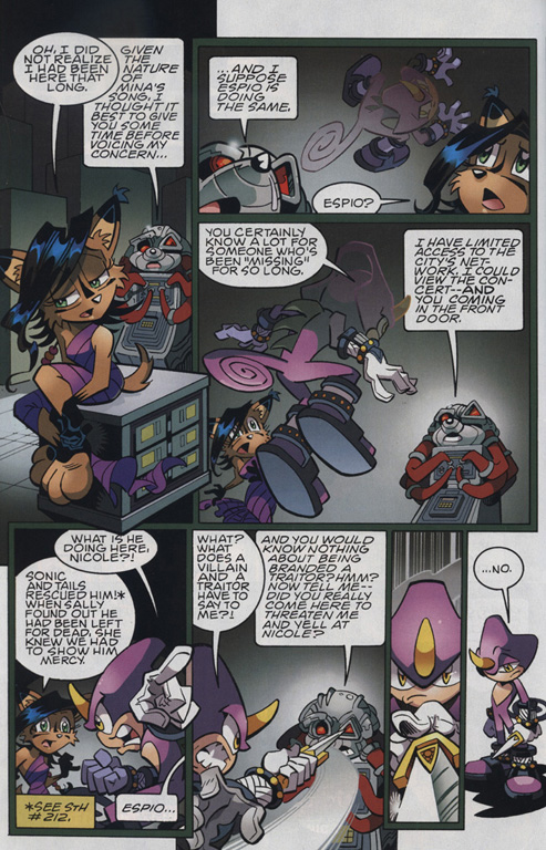 Read online Sonic The Hedgehog comic -  Issue #221 - 20