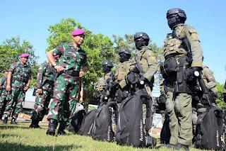 Latihan Armada Jaya XXXVII 2019