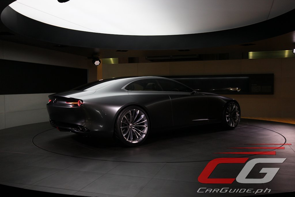 if you think the mazda vision coupe looked great outside check out the inside w video. Black Bedroom Furniture Sets. Home Design Ideas