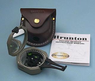Brunton F-5006 LM amerikan jeolog pusulası