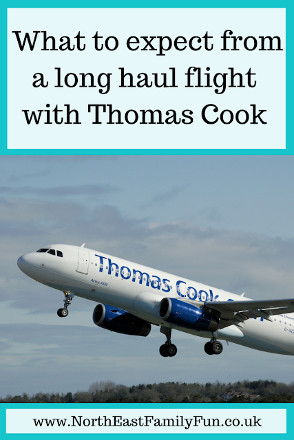 A Thomas Cook Long Haul Flight from Manchester | In-flight Meals, Entertainment & What to Expect - A Review