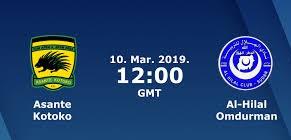 مشاهدة مباراة الهلال وأشانتي كوتوكو بث مباشر 10-3-2019 كاس الكونفيدرالية