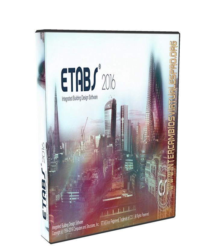 CSI ETABS 2016 v16.0.0 build 1488 poster box cover
