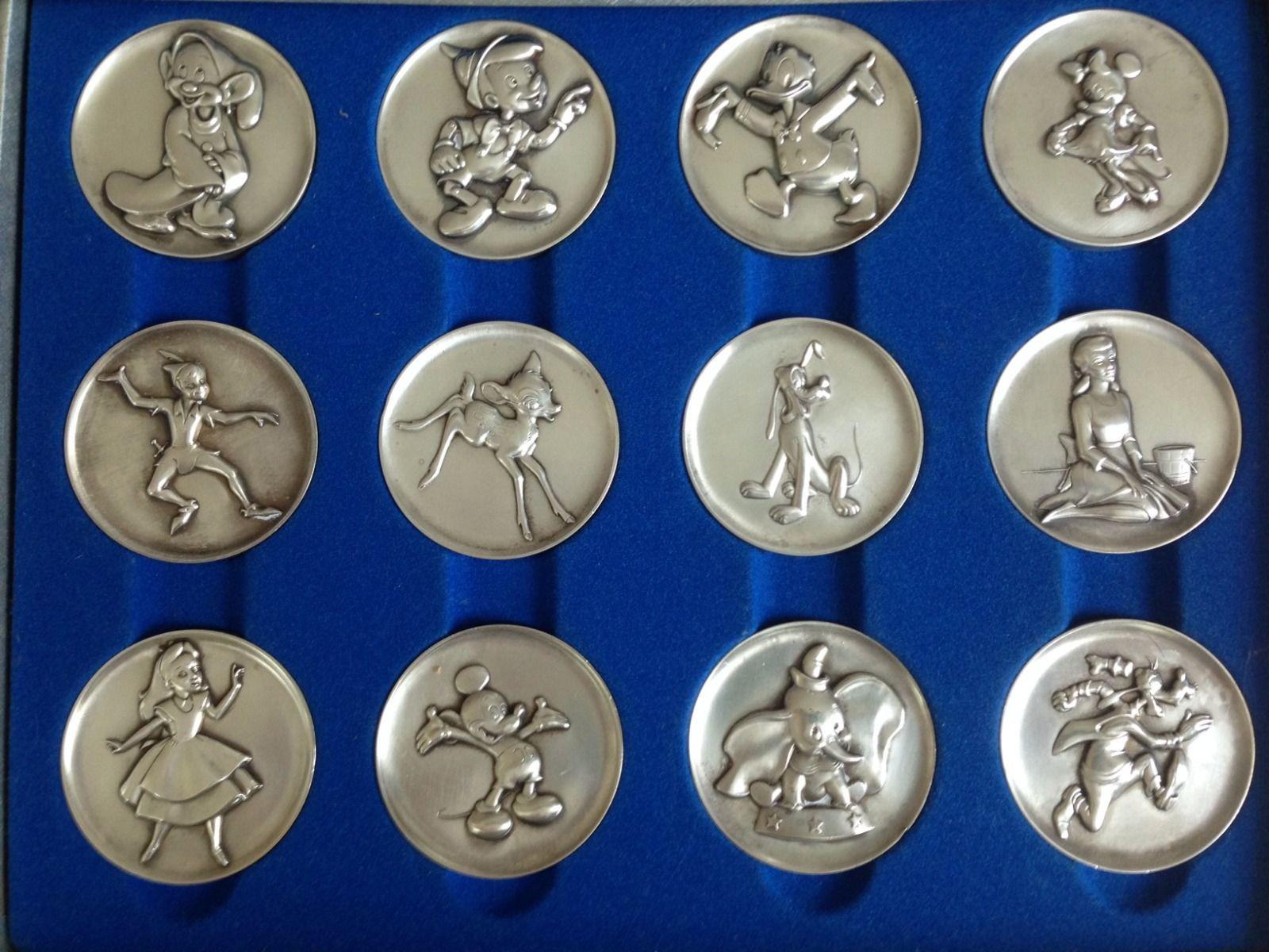 Kirk Magic Of Disney Silver Coins