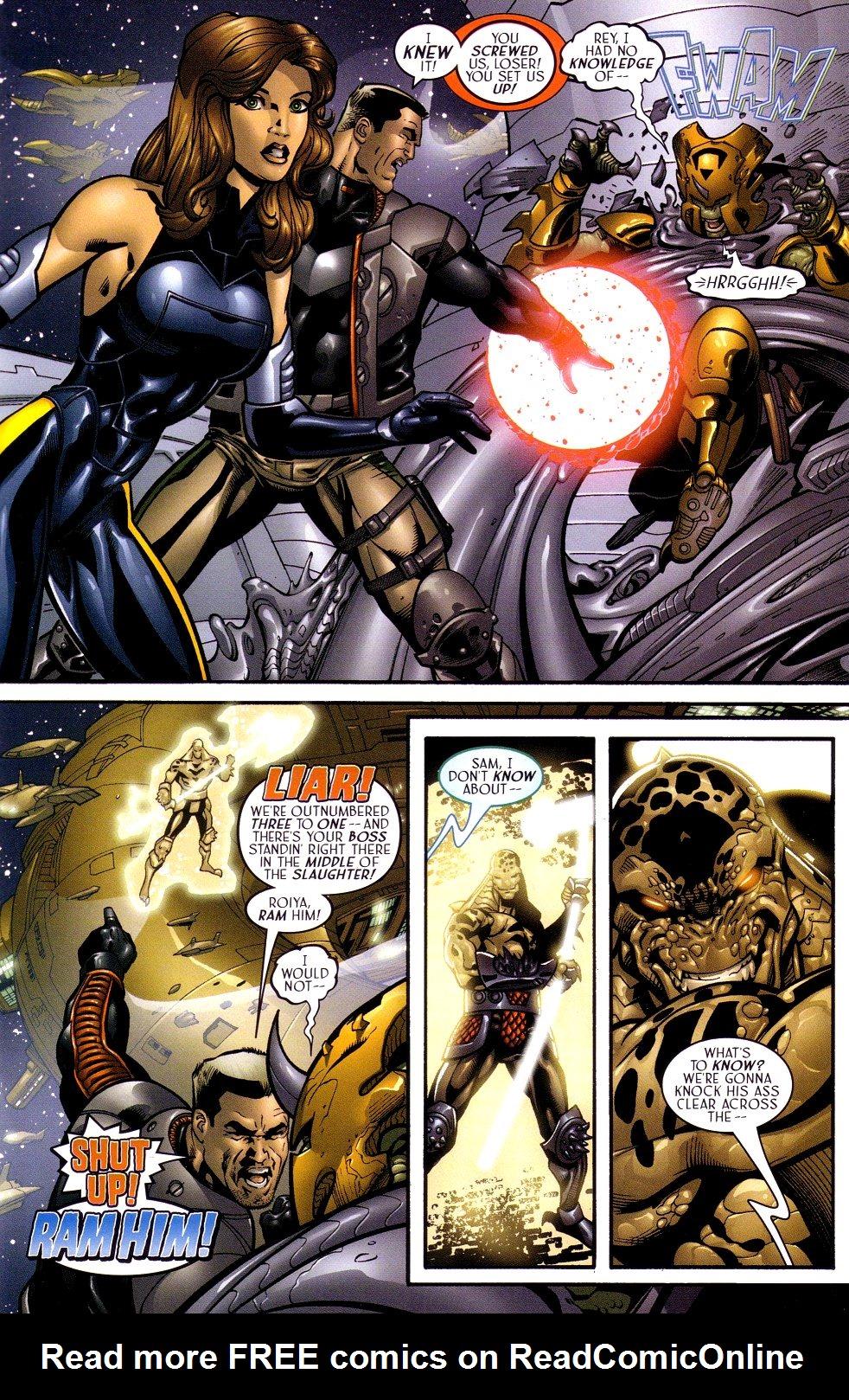 Read online Sigil (2000) comic -  Issue #16 - 10
