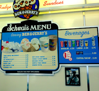 ice cream menu, universal orlando