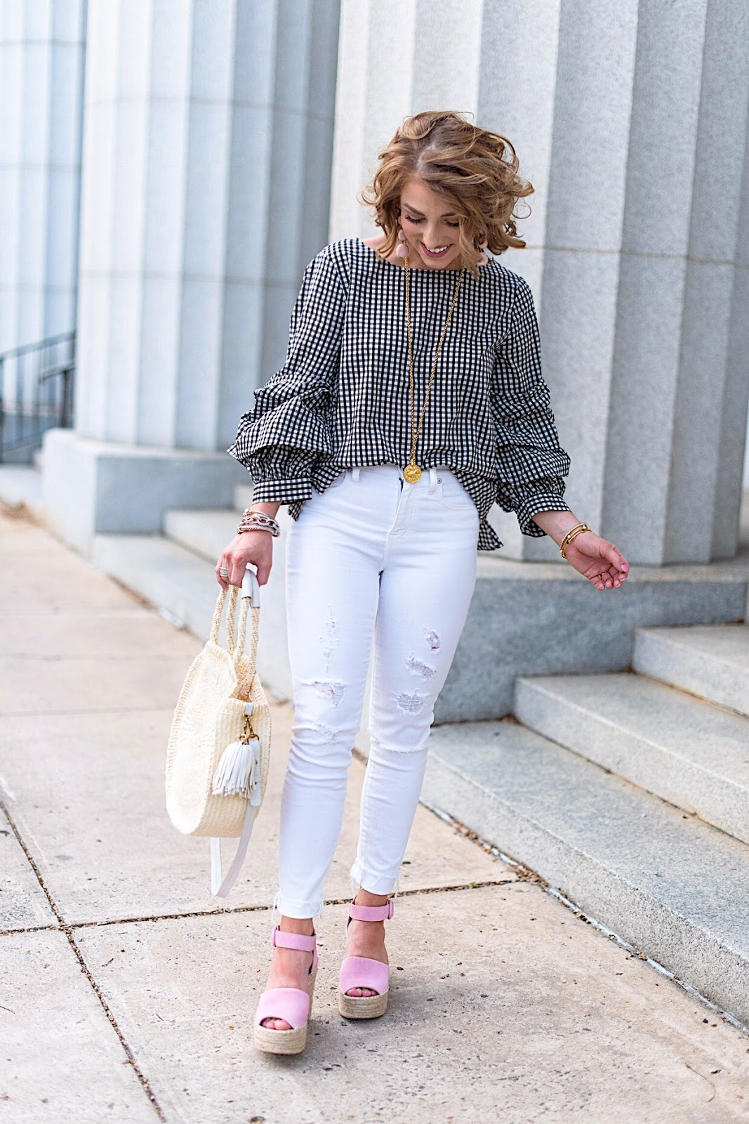 Spring Style - Click through to see the full post on Something Delightful Blog