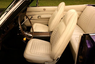 1970 Dodge Charger 500 Sports Convertible Seat Front