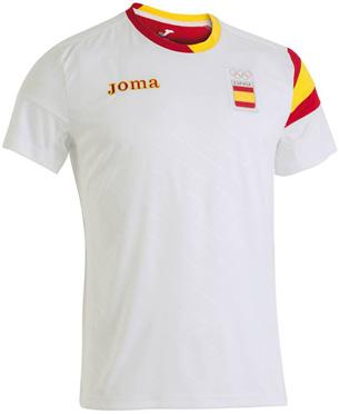 camiseta atletas españoles Joma para Podium Olimpida Rio 2016
