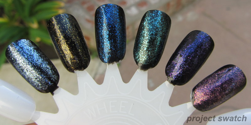 TKB Mermaid Collection Iridescent Pigments Swatches & Review