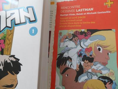 Rencontre dessinée au festival de BD d'Aix