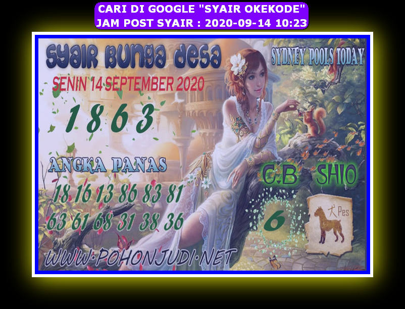 Kode syair Sydney Senin 14 September 2020 157