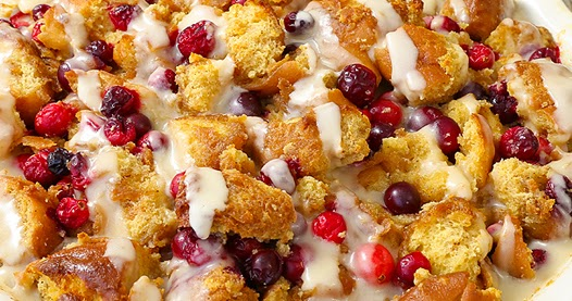 ... Italian - Printable Recipes: Cranberry Maple Donut Bread Pudding
