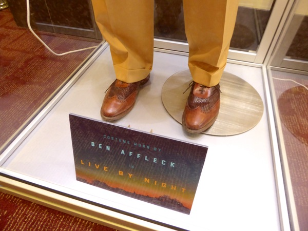 Ben Affleck Live by Night costume shoes