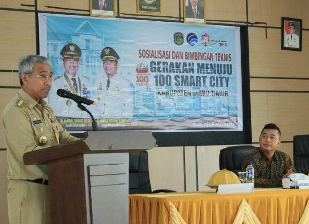Bupati Luwu Timur Harapkan Smart City Percepat Capaian Visi Misi