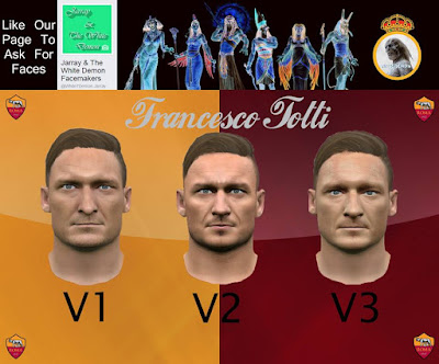 Francesco Totti 3 Version Pes 2016 By The White Demon