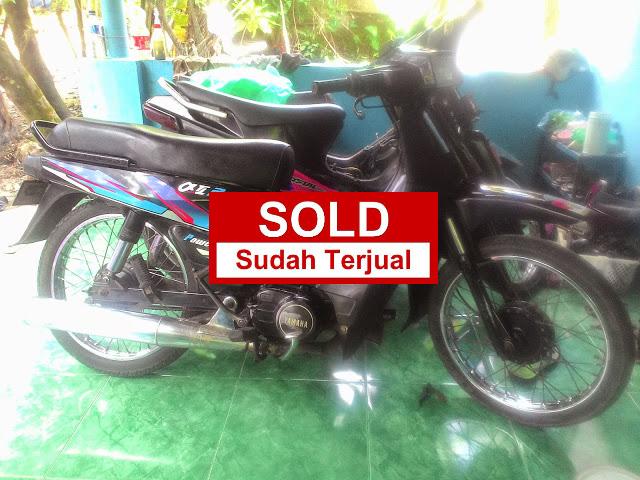 JUAL MOTOR BEKAS     Dijual motor Yamaha Alfa tahun 95    Plat AB Bantul   Surat lengkap   Harga 1,2 juta.      Alamat: Pleret, Bantul, Yogyakarta.      Whatsapp 0817944249