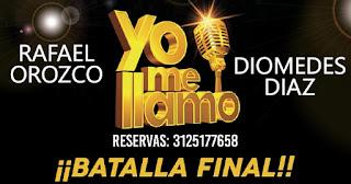 """Diomedez Diaz y Rafael Orozco """"Yo me Llamo"""" en concierto"""