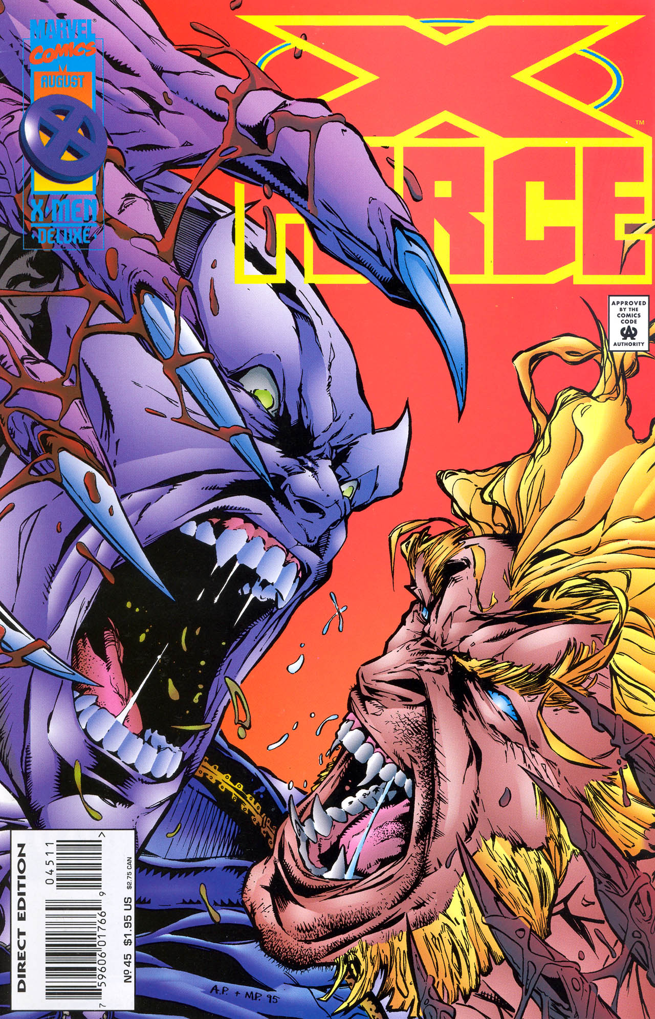 X-Force (1991) 45 Page 1