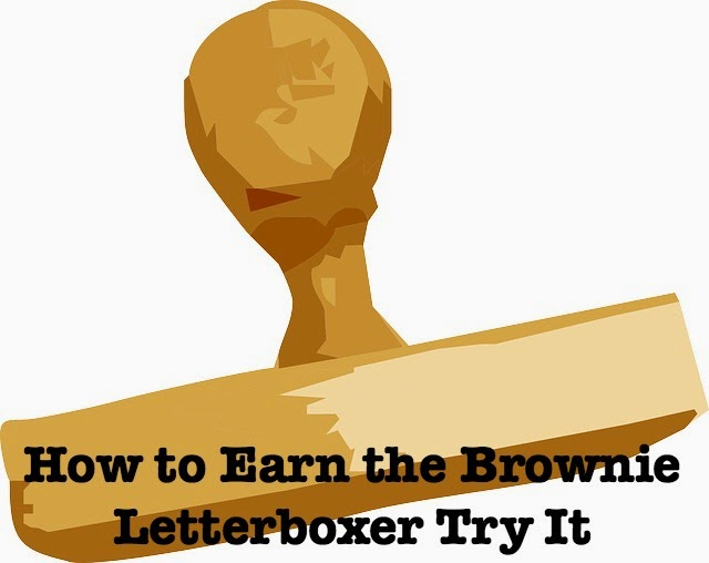 Meeting plan how to earn the Brownie Girl Scout Letterboxer badge. Has links to resources and craft ideas.