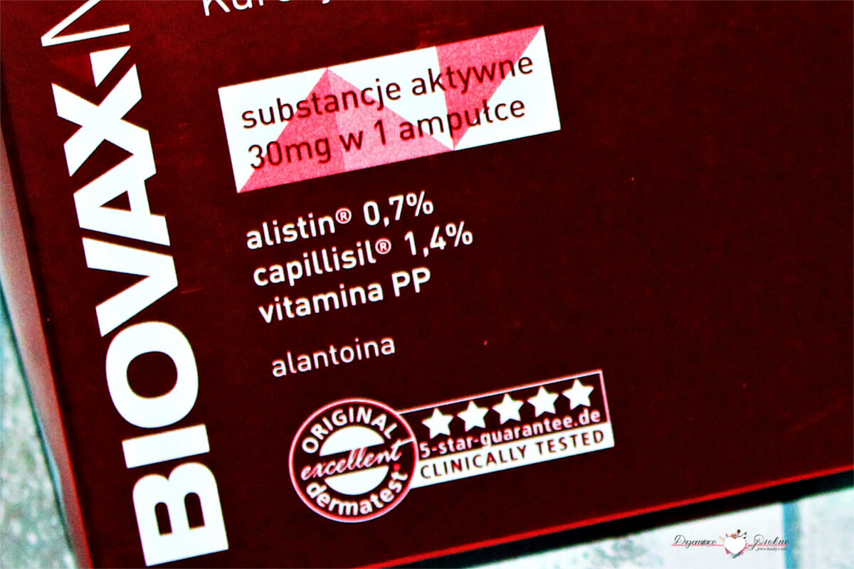 BiovaxMed Aktywne ampułki - kuracja przeciw wypadaniu włosów