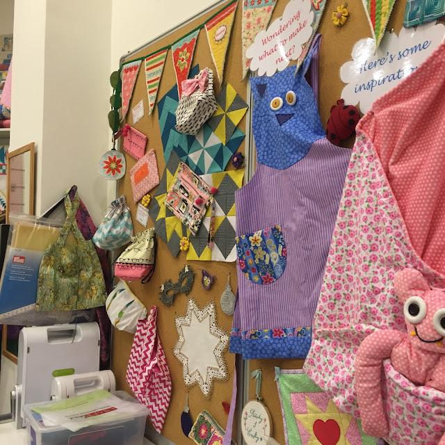 Venture & Roam: Craftland Workshop Inspiration Board, sewing projects, inspiration,