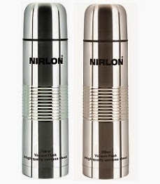 Flat 50% Off on NIRLON Stainless Steel Vacumn Flask: 750 Ml for Rs.399 & 500 Ml for Rs.299 Only