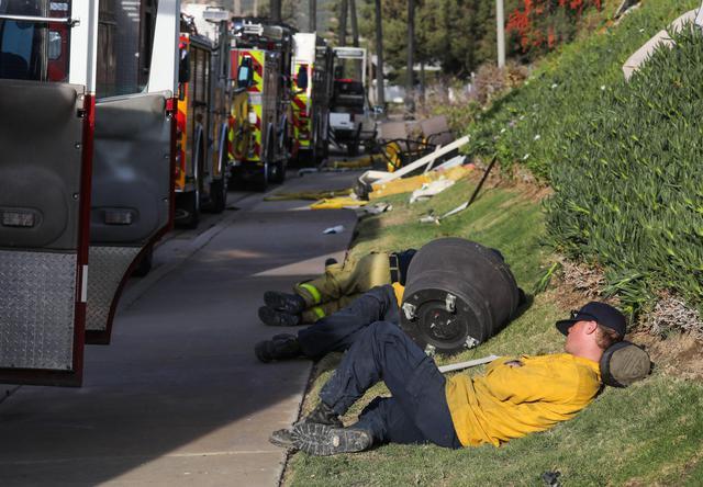 pompieri incendio california