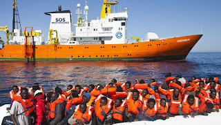 French NGO operated vessel the Aquarius