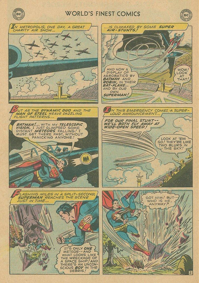Read online World's Finest Comics comic -  Issue #92 - 17