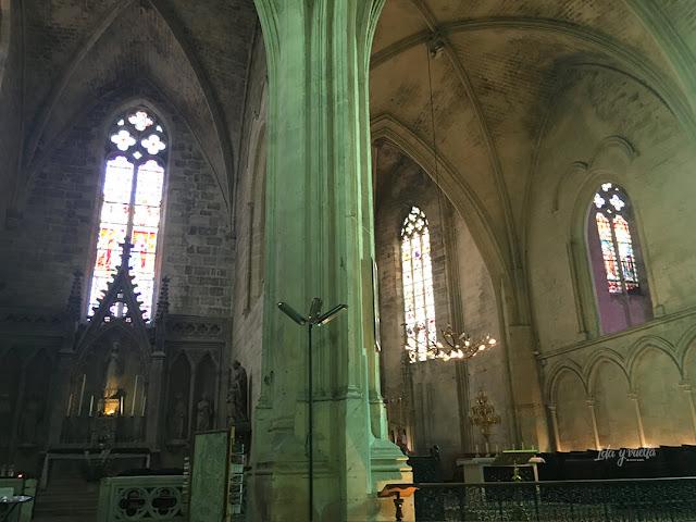 Iglesia de la Colegiata en Saint-Émilion