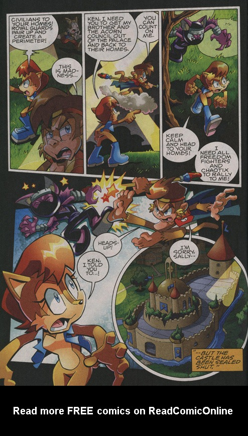 Read online Sonic The Hedgehog comic -  Issue #208 - 10