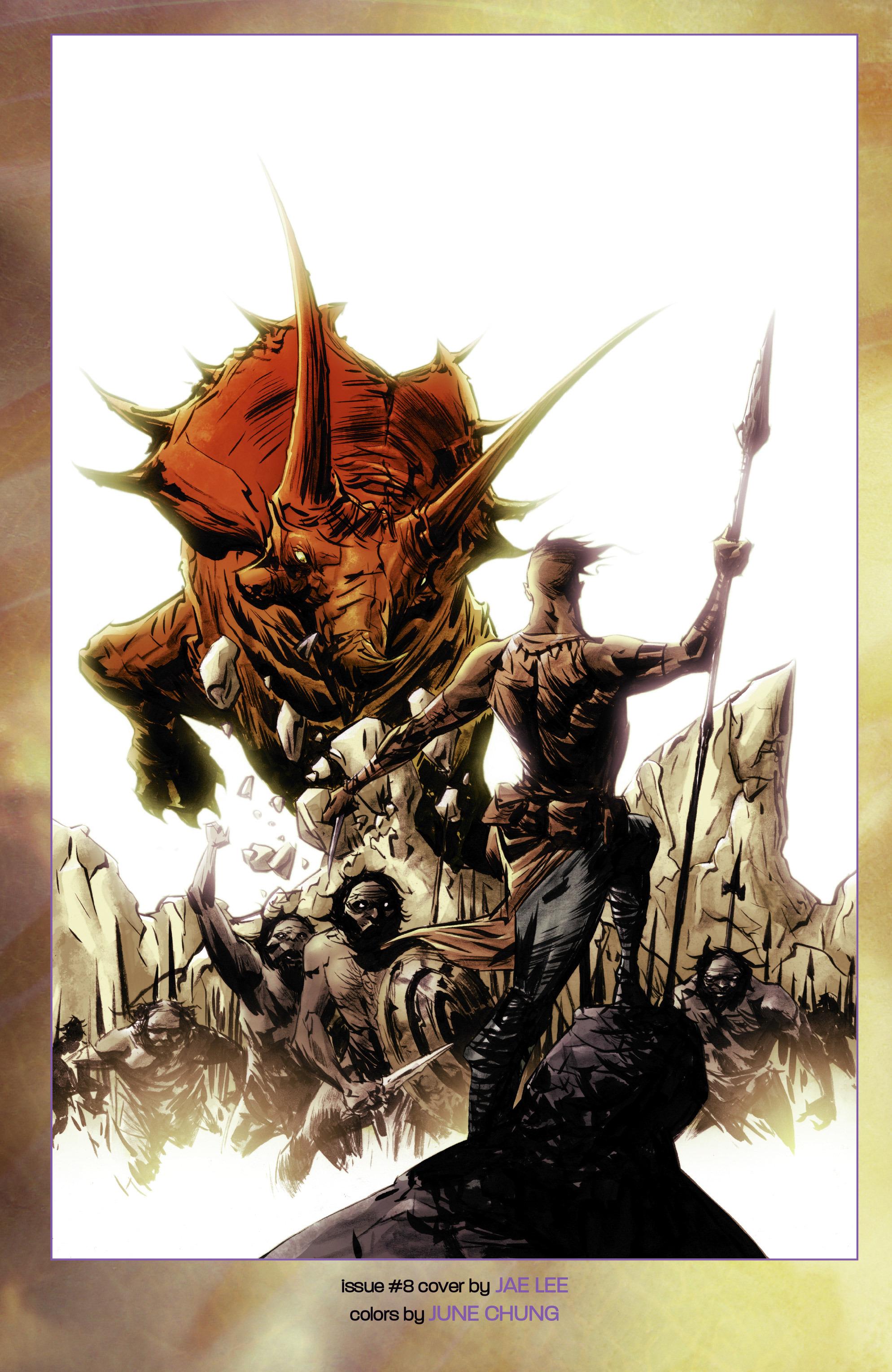 Read online Turok: Dinosaur Hunter (2014) comic -  Issue # _TPB 2 - 112
