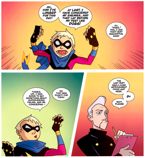 Gladstone's School for World Conquerors #1 By Mark A. Smith, Armand Villavert, Carlos Carrasco, Fonografiks, Dan Hipp, Thomas Mauer.