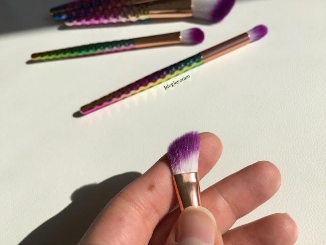 to save alışverişi unicorn makyaj fırça seti 15