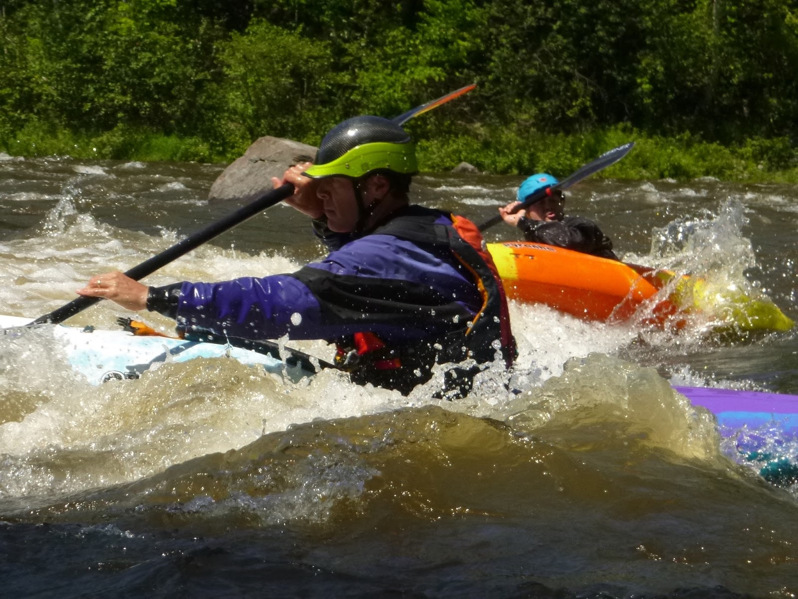 Rebecca And I Just Spent Three Days Taking A Whitewater Class In Vermont With Nate Hanson Pinniped Kayak Todd Wright StMichaels College Adventure