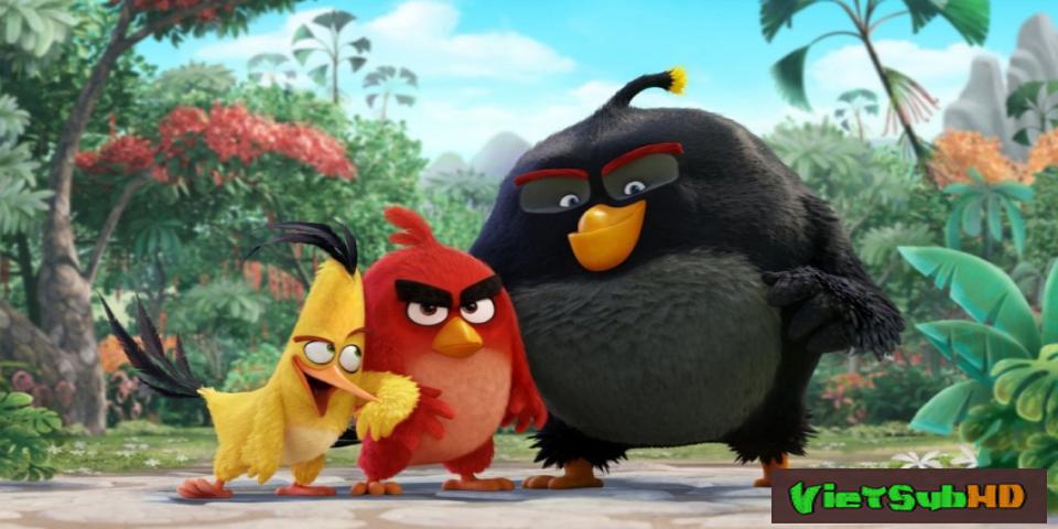 Phim Những Chú Chim Giận Dữ VietSub + TM HD   The Angry Birds Movie 2016